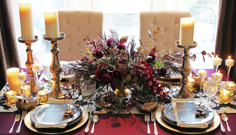 Thanksgiving Table with Tableau Events and BLOOM