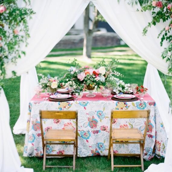 Backyard Wedding Setting | Tableau Events