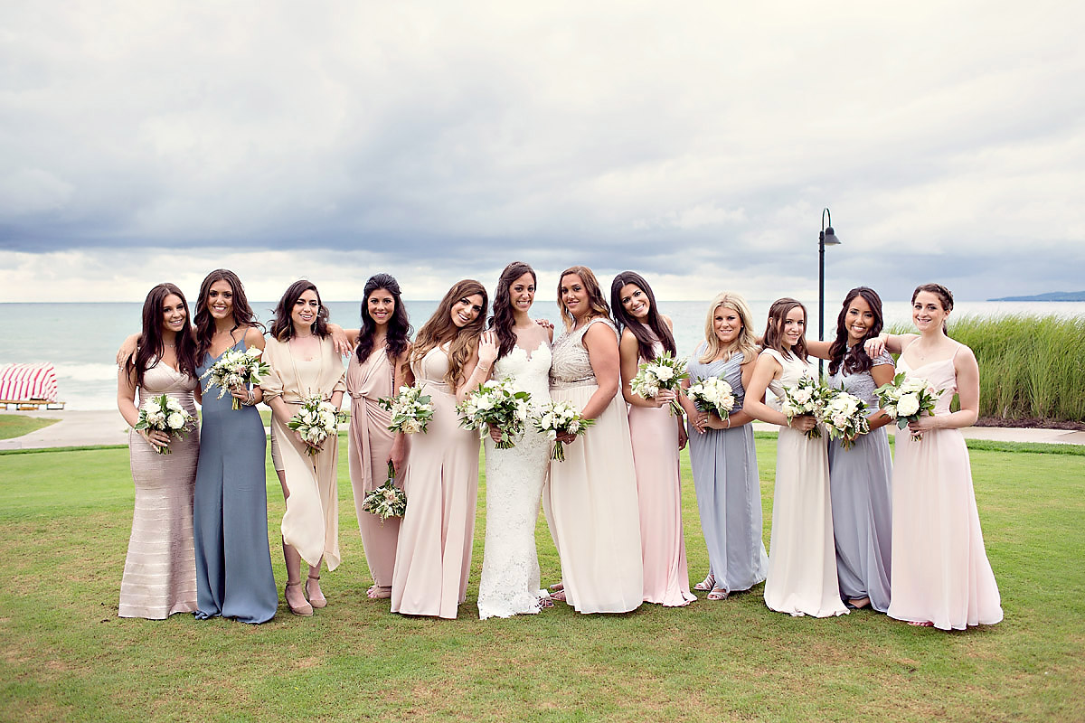 Bridal Party | Lake Michigan | Tableau Events