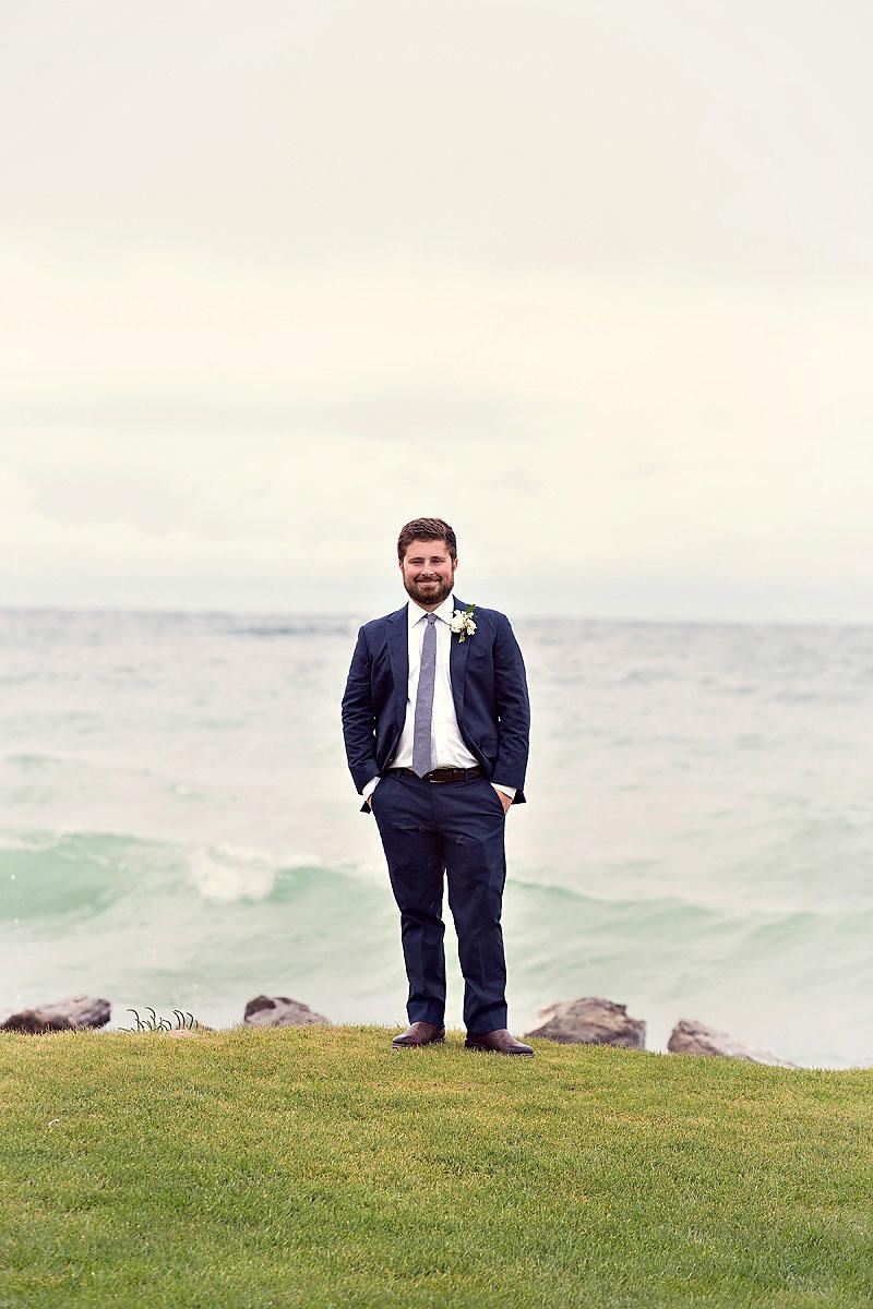 Groom Attire | Lake Michigan | Tableau Events