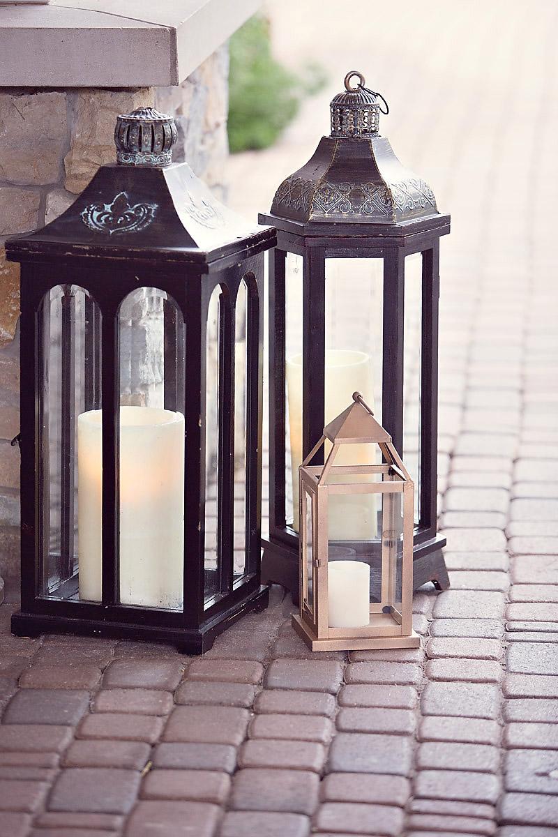Lantern Decor | Aisle Decoration | Tableau Events