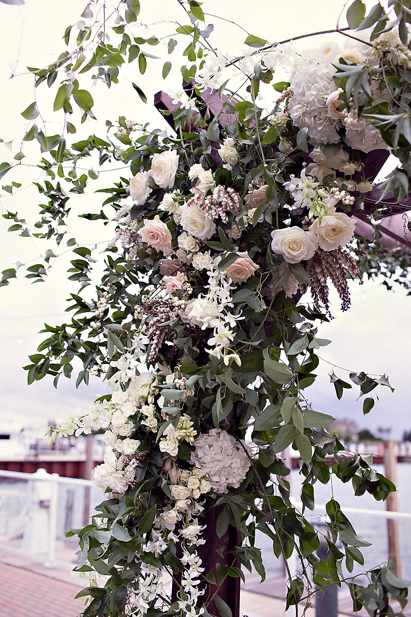 Floral Inspirations | Bloom Floral Design | Ceremony Decor | Jewish Wedding Inspiration | Tableau Events