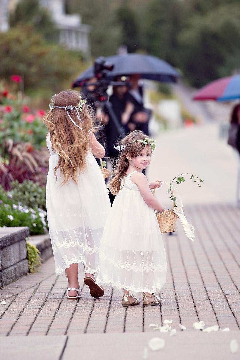 Flower Girls | Bloom Floral Design | Little Flower Crown | Boho Inspiration | Tableau Events