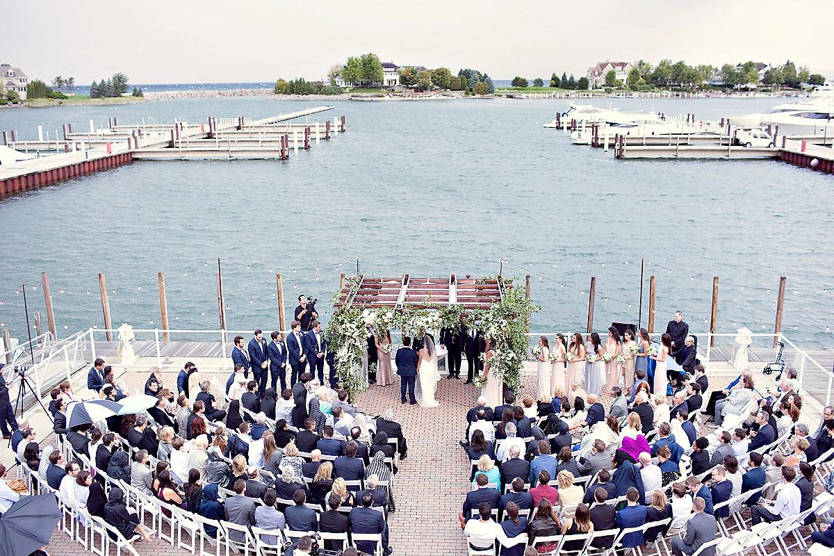 Bay Harbor Yacht Club Wedding | Northern Michigan Wedding | Tableau Events