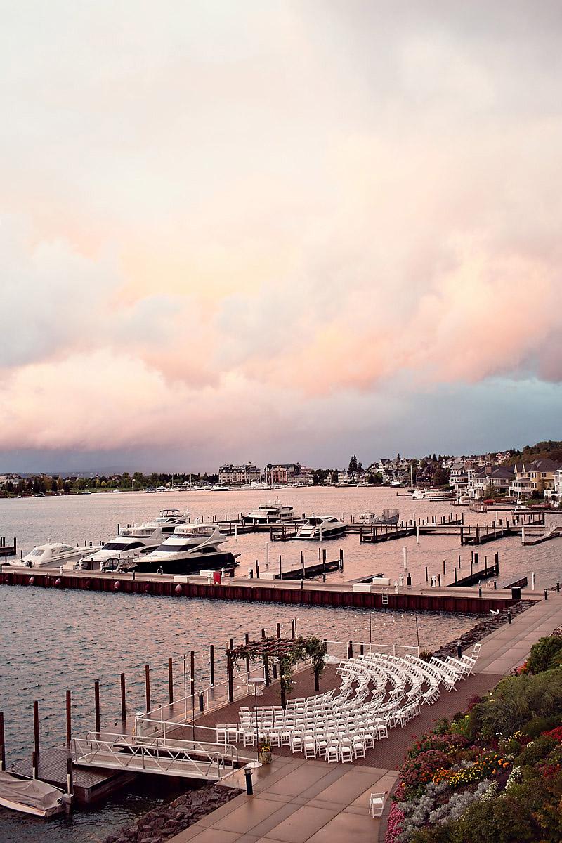 Bay Harbor Sunset Wedding | Tableau Events