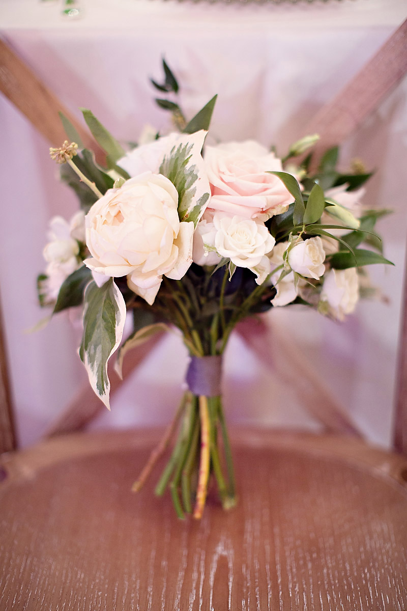 Simple Bridesmaid Bouquet | Bloom Floral Design | Northern Michigan Wedding | Tableau Events