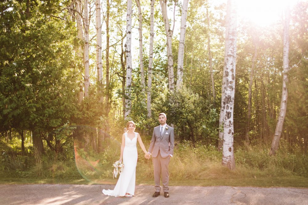Outdoor Michigan Wedding | Nature Inspired | Tableau Events
