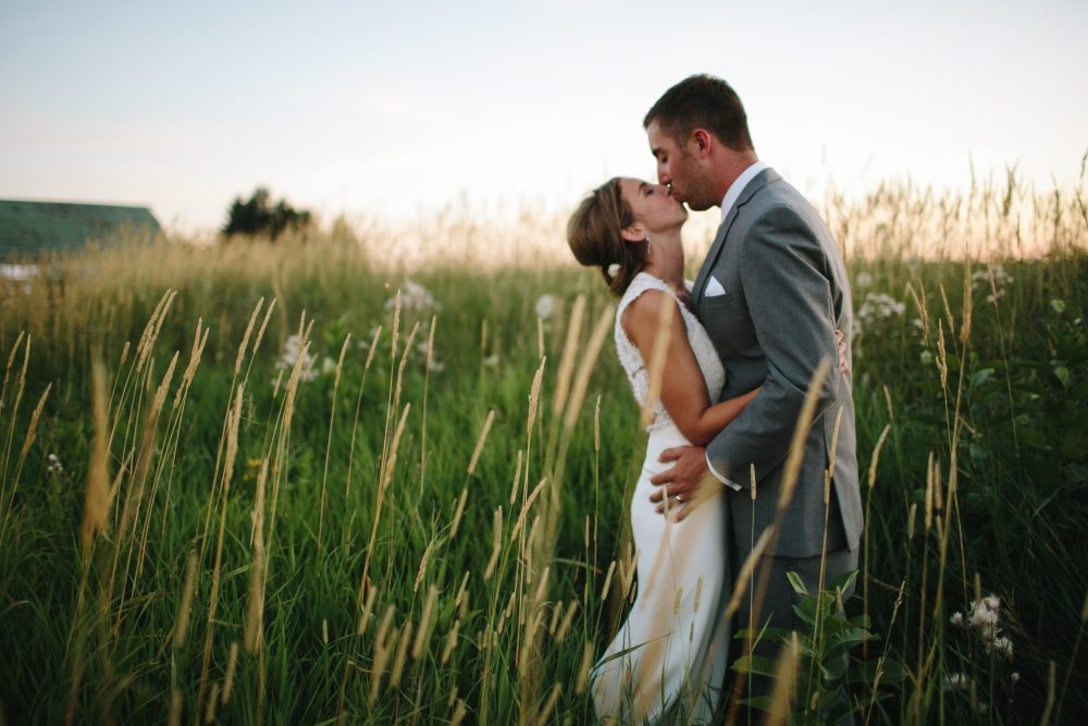 Field Wedding | Northern Michigan Barn Wedding | Tableau Events