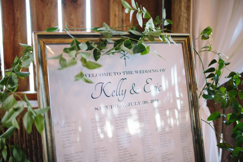 Custom Seating Chart | Floral Accents | Tableau Events