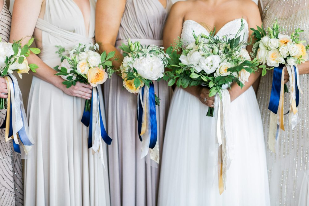 Hand Tied Bouquets | Bloom Floral Design | Wedding Planning | Tableau Events