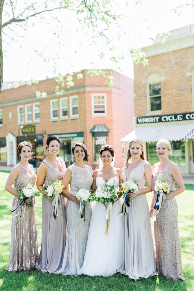Downtown Petoskey Michigan Wedding Party | Tableau Events