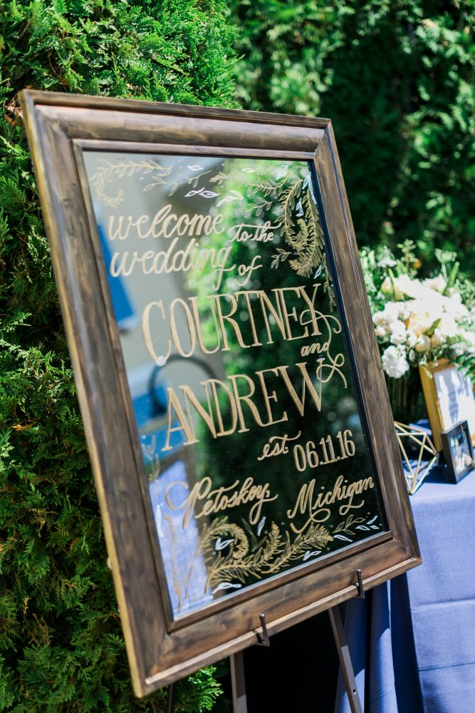 Custom Welcome Sign | Hand Calligraphy | Silverfox Calligraphy | Wedding Planning | Tableau Events