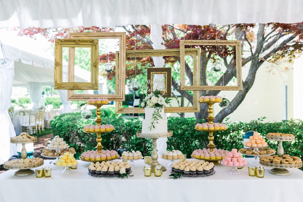 Dessert Table | Simply Sweet by Jessica | Northern Michigan Wedding Planning | Tableau Events