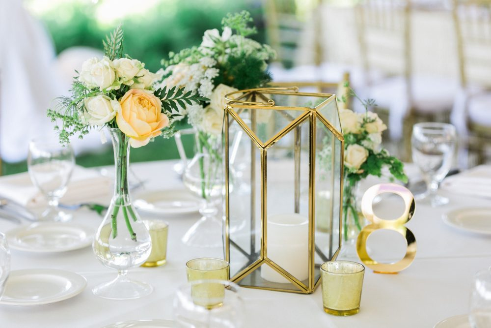 Center Pieces | Northern Michigan Wedding Planning | Tableau Events
