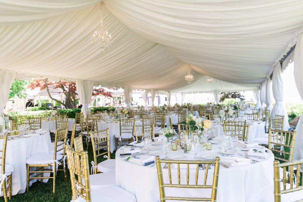 Tent Wedding | Outdoor | Northern Michigan Summer Wedding | Tableau Events