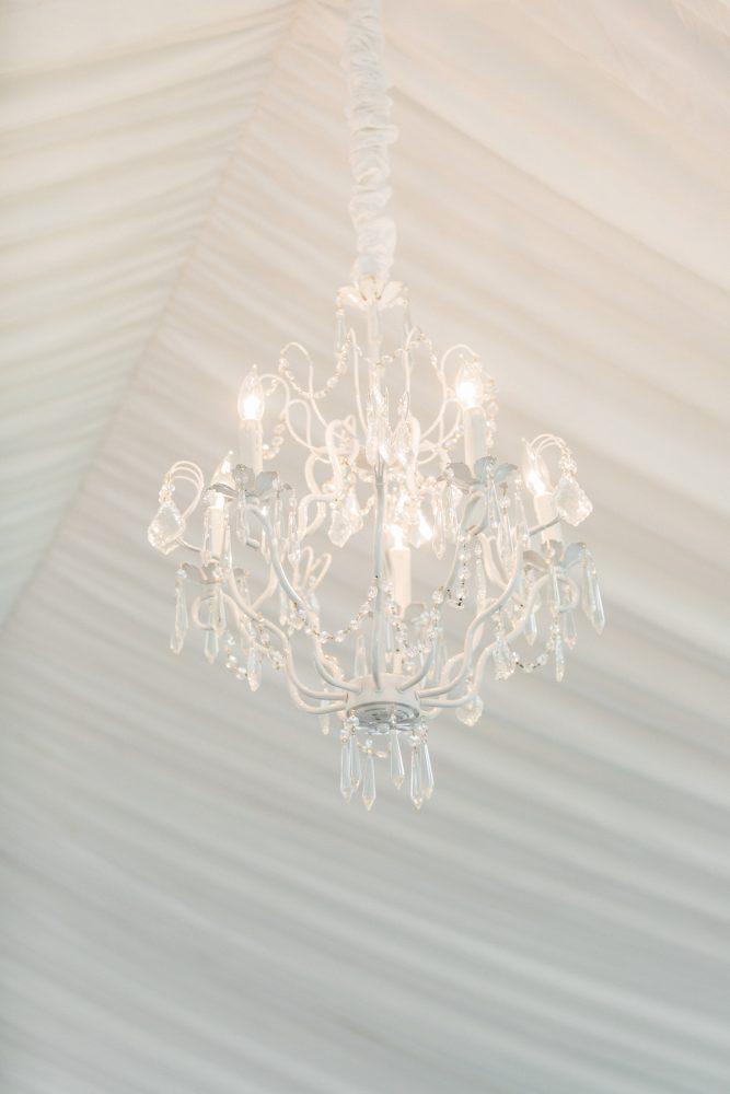 Lighting Tent | Chandeliers | Norhtern Michigan Wedding | Tableau Events