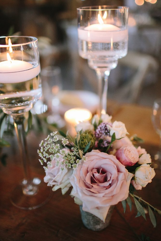 Wedding Floral Inspiration | Floating Candles | Tableau Events