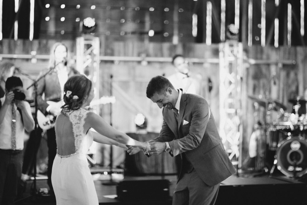 First Dance | Northern Michigan Barn Wedding Tableau Events