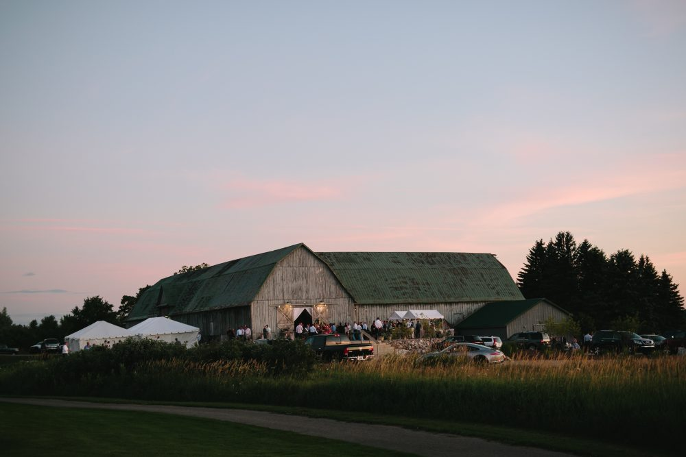 Shanahan's Barn Wedding | Charlevoix Michigan Tableau Events