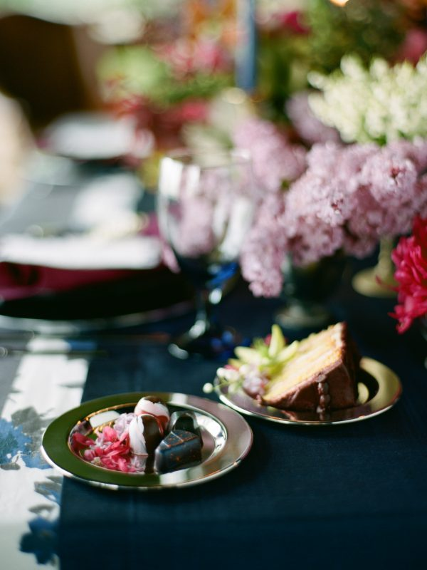 Wedding Dessert | Floral Details | Tableau Events