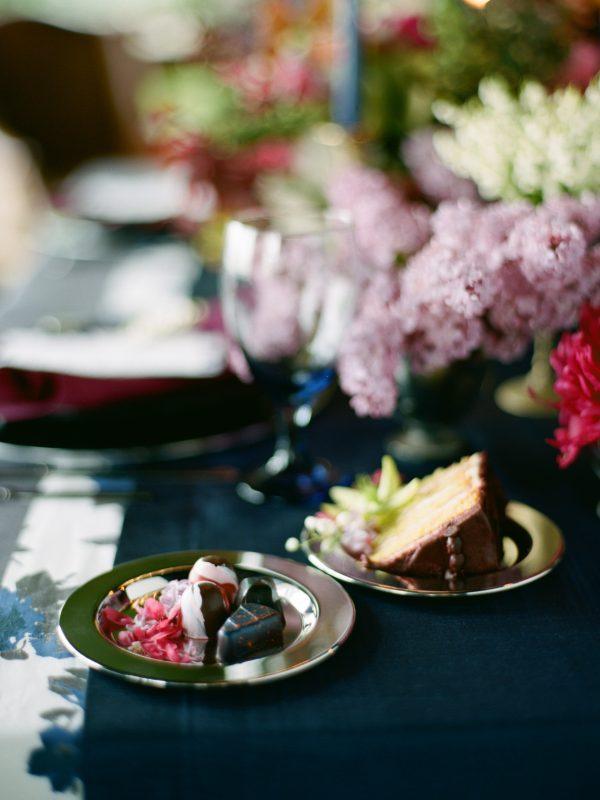 Wedding Dessert | Floral Details | Tableau Events