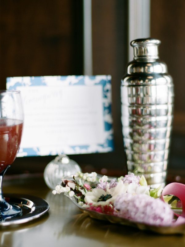 Custom Cocktail Menu | Northern Michigan Wedding | Tableau Events