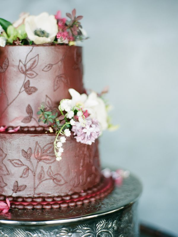 Wedding Cake | Floral Details | Tableau Events