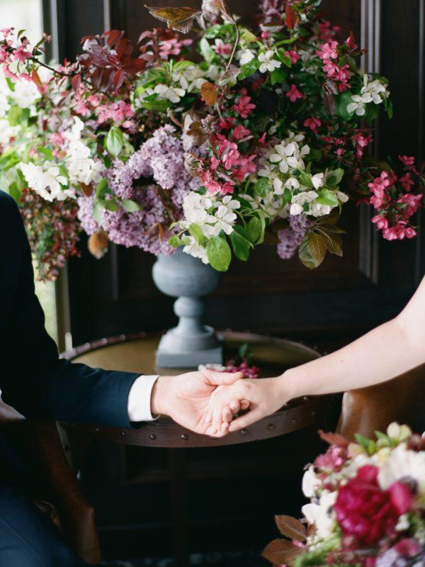 Floral Arrangement | Northern Michigan Wedding | Bloom Floral Design | Tableau Events