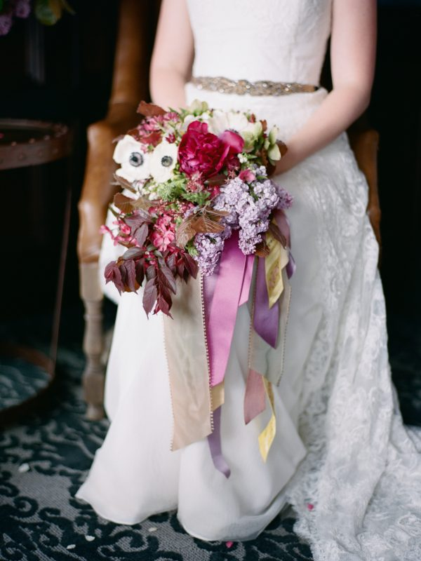 Bouquet | Ribbons | Michigan Wedding