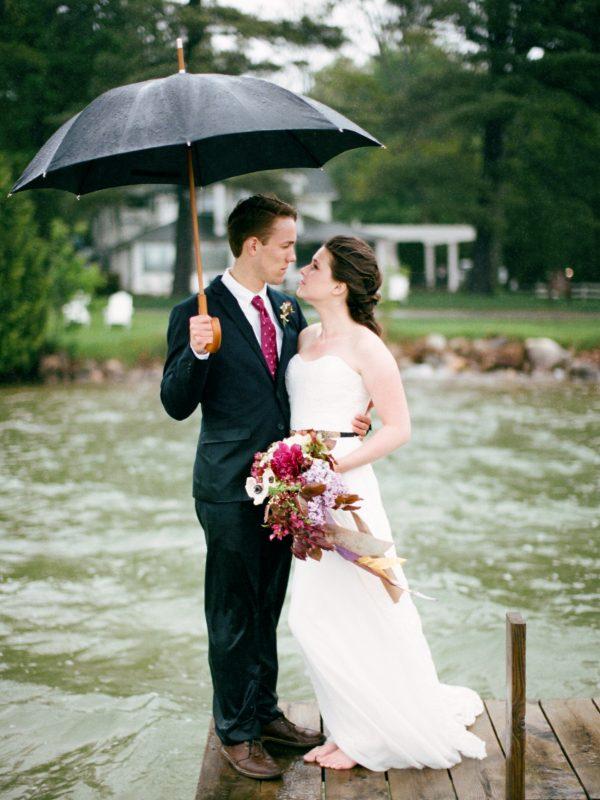Walloon Lake | Michigan | Wedding | Bloom Floral Design | Tableau Events