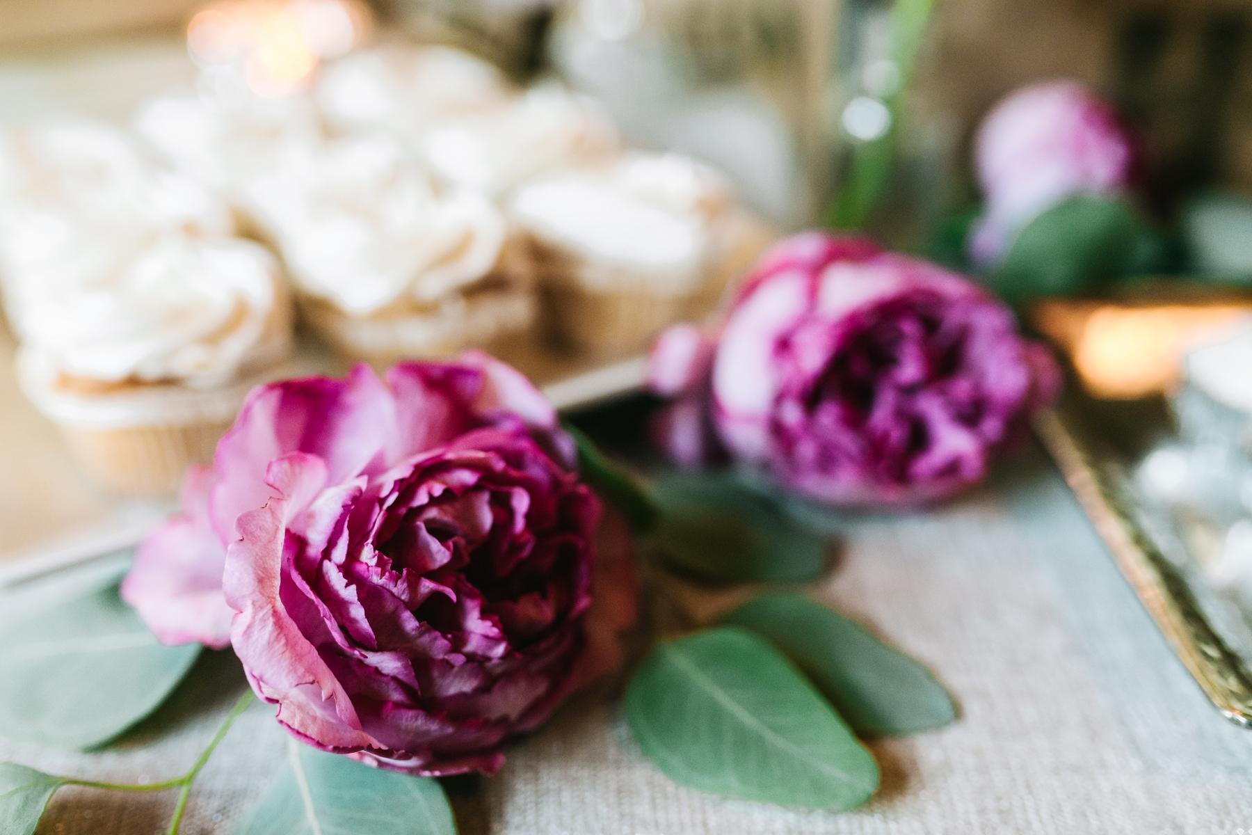 Dessert Presentation | Bloom Floral Design | Northern Michigan Wedding Planning | Tableau Events