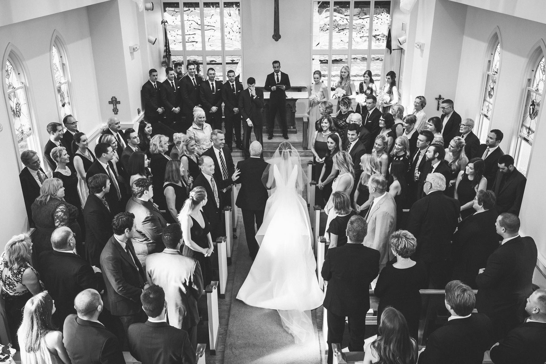 Classic Church Wedding | Northern Michigan Wedding Planning | Tableau Events