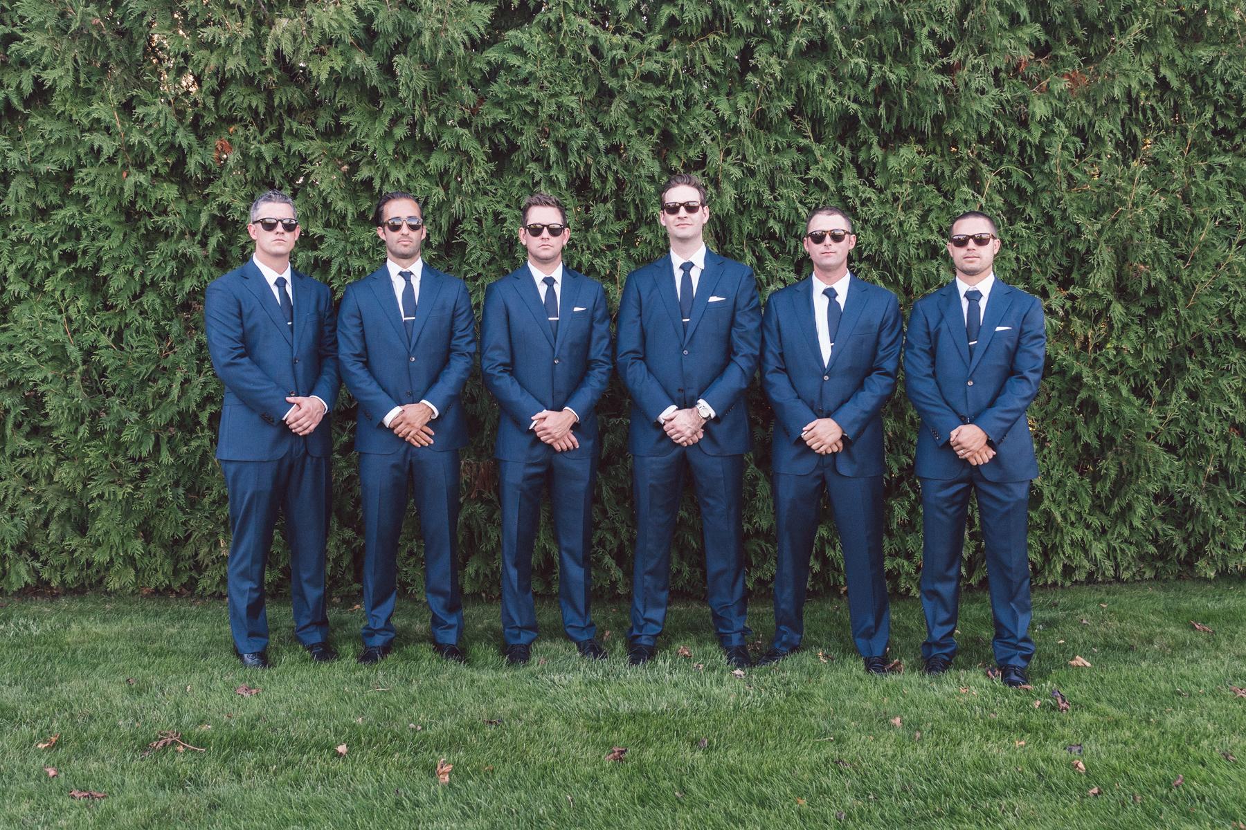 Navy Suits | Bay Harbor Michigan | Groomsmen | Northern Michigan Wedding Planning | Tableau Events