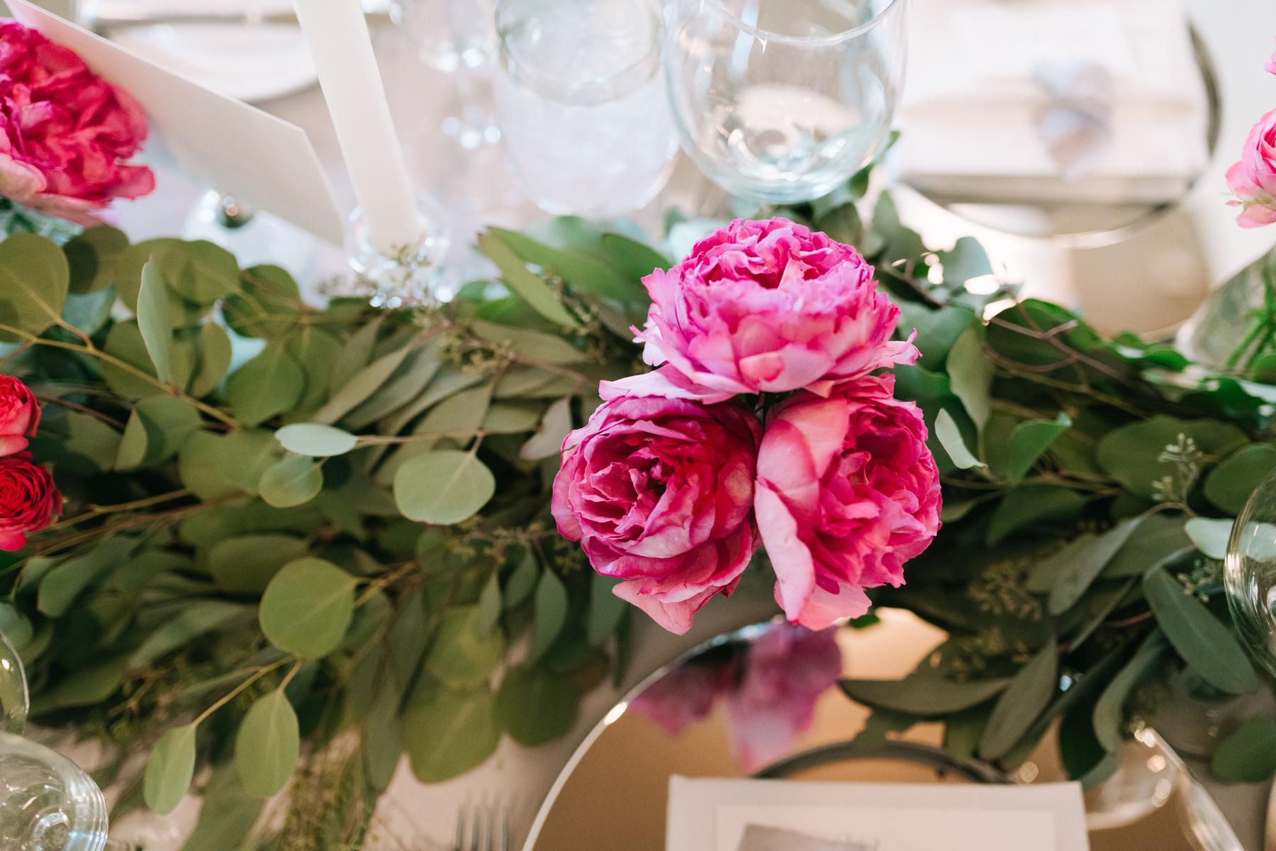 Pink Floral Inspirations | Bloom Floral Design | Wedding Planning | Tableau Events