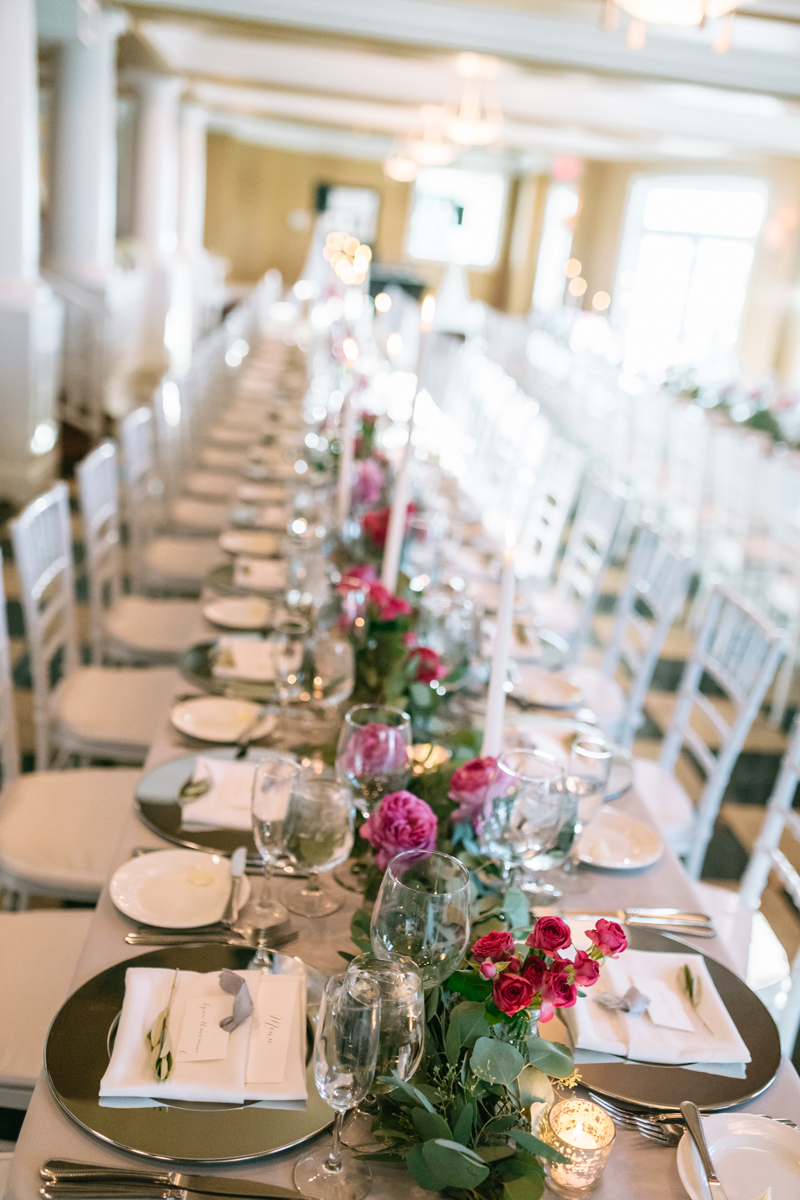 Wedding Table Decor | Northern Michigan Wedding Planner | Tableau Events | Bloom Floral Design