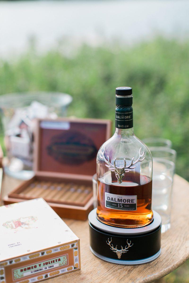 Cigar Lounge | Outdoor Wedding | Summer | Michigan