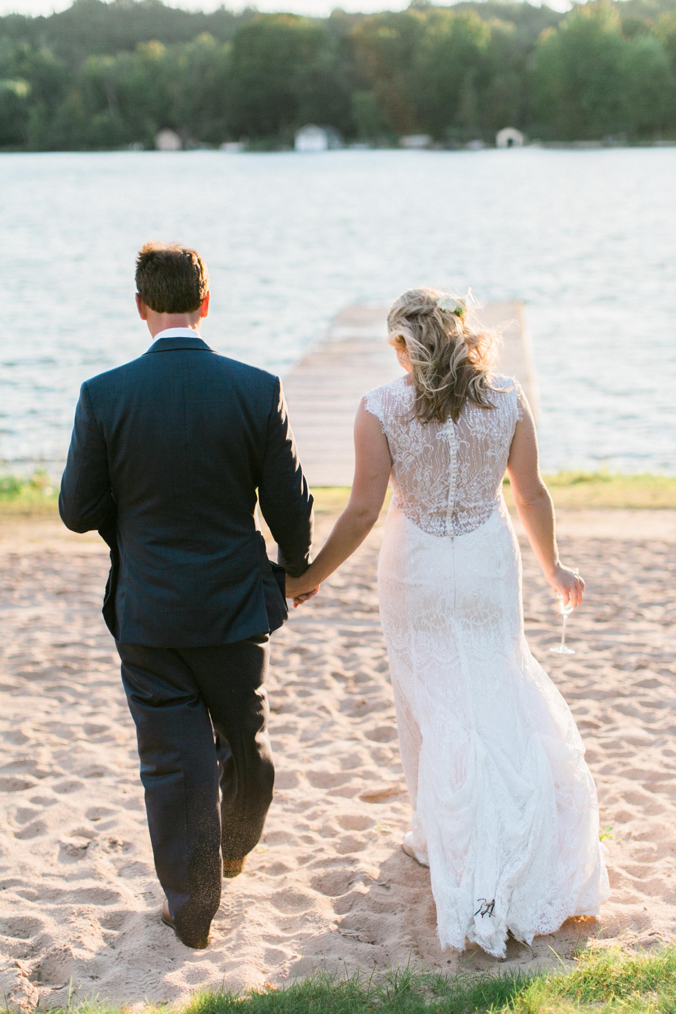 Beach Wedding | Lake Leelanau | Michigan | Tableau Events